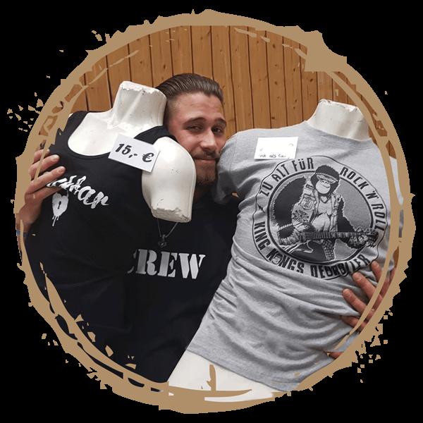Bandshirts & Merchandise